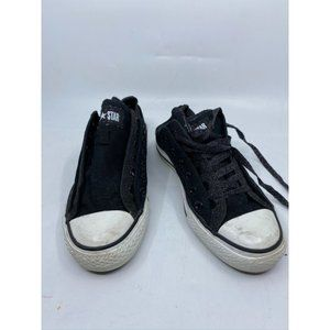 CONVERSE Sneakers White Black Men's Size 5
